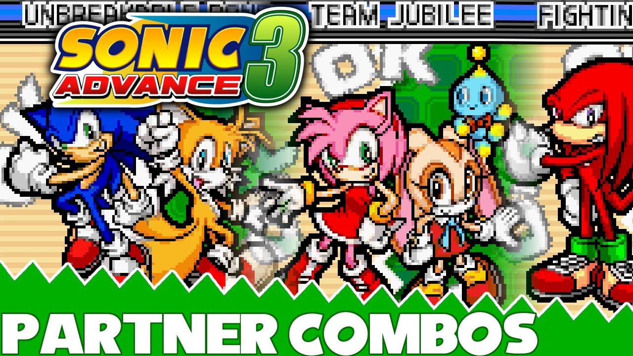 Sonic Advance 3 HD: Partner Combos