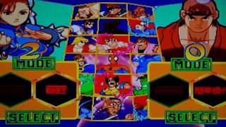 Marvel Super Heroes VS. Street Fighter  (Sega Saturn) (Japanese Import)