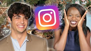 We Tried Recreating Noah Centineo's Instagram Posts