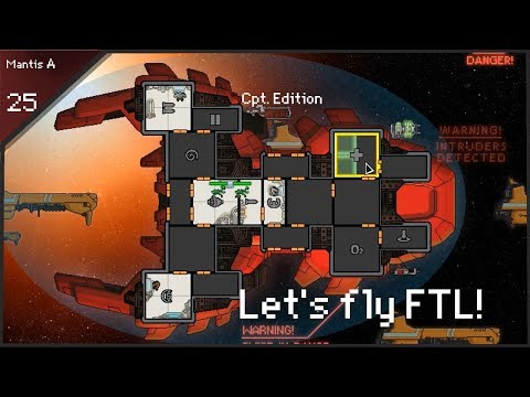 🍴The dreaded Eye-stabber returns🍴! - let's fly FTL CE - Run:25 - [Mantis A]