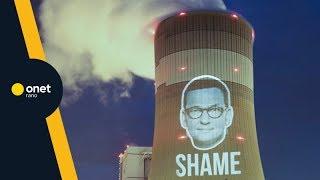 Józefiak z Greenpeace: Morawiecki przynosi nam WSTYD | #OnetRANO