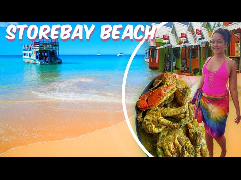 TOUR OF STORE BAY BEACH| The Most Popular Beach in Tobago |Trinidad Youtuber.
