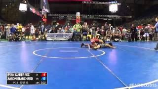 Gambar cover 132 Champ. Round 1 - Aaron Blanchard (Oregon) vs. Ryan Gutierrez (California)
