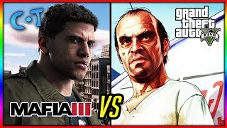 GTA 5 vs WATCH DOGS 2  vs MAFIA 3 vs SLEEPING DOGS . WHO WINS?????? 📽️