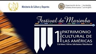 Marimba de Guatemala, Patrimonio Cultural de las Américas