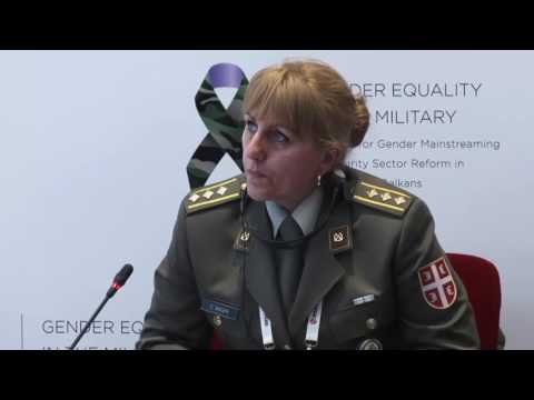 Panel III - Gender Equality in the Military in the Western Balkans