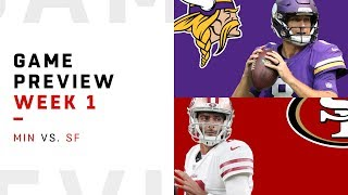 San Francisco 49ers vs. Minnesota Vikings | Week 1 Game Preview | Move the Sticks