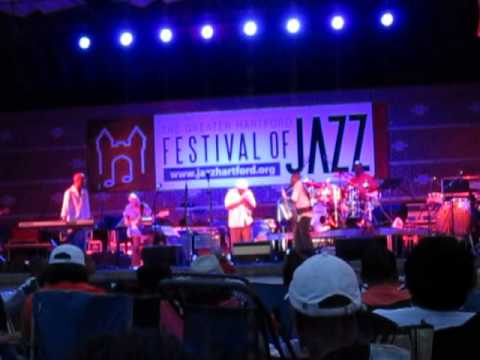 Eric Darius and Tom Browne Live!  Greater Hartford Festival of Jazz July 20, 2013
