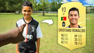 How Good is 12 Year Old Kid RONALDO At Football?