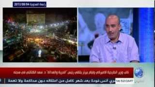 محمد العربي زيتوت: تطورات الأحداث في مصر بعد مرور أكثر من شهر على الإنقلاب