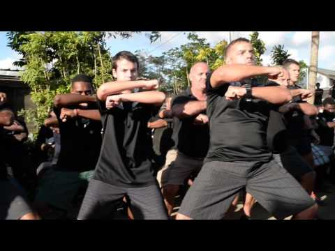 Flashmob Haka   Port Vila, 30 Oct 2015