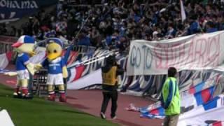 2010ナビスコ初戦 横浜FM VS 山形 心優しきキムクナンコール