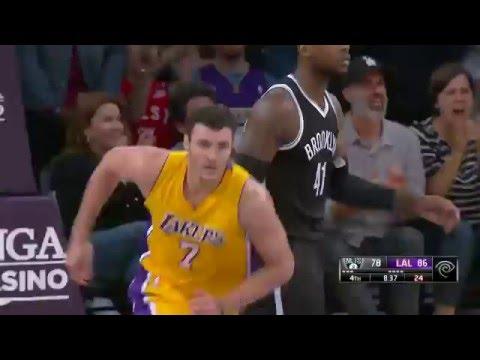Los Angeles Lakers Top 10 Plays of NBA 2015-16 Season