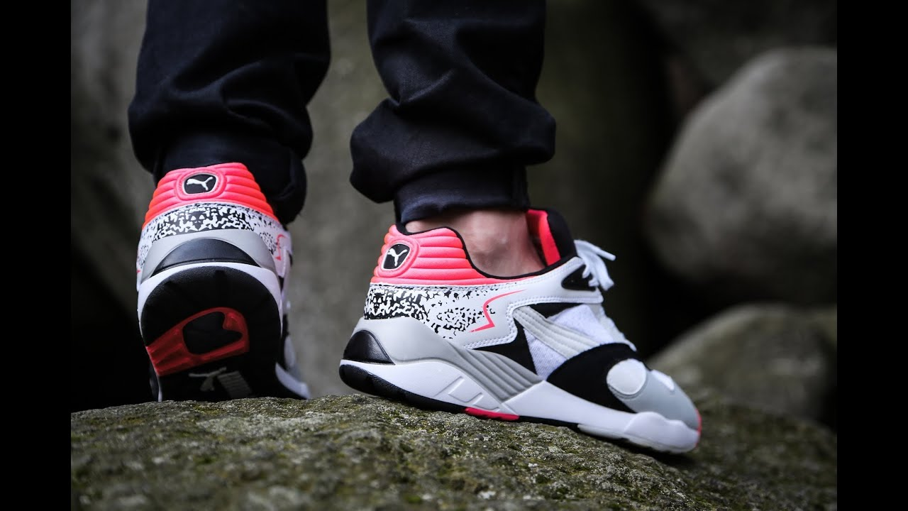 trinomic by puma xs850 plus fluro peach