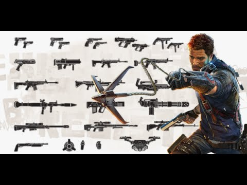 MOSTRANDO TODAS LAS ARMAS DE JUST CAUSE 3