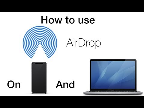 Tutorial - How to use AirDrop on your iPhone and Mac - 1