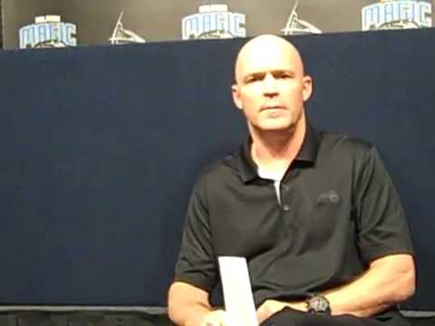 Scott Skiles Pregame vs. Hornets Oct. 3, 2015