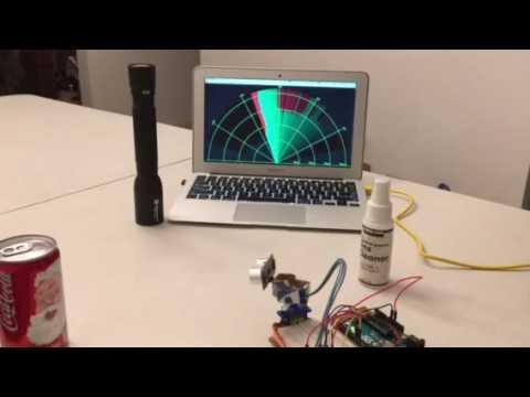 arduino radar detector