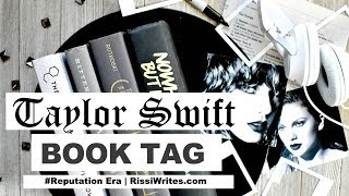 The TAYLOR SWIFT Book Tag (+ the