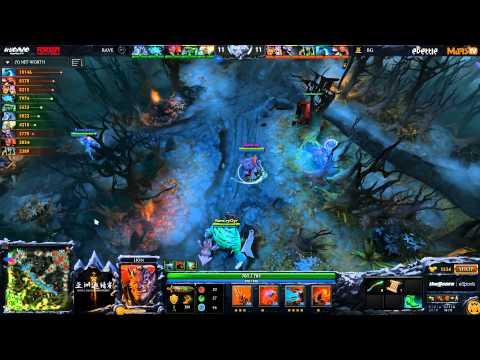 [NICE] Big God vs Rave - Game 1 (Dota 2 Asia Championships) - LD & syndereN