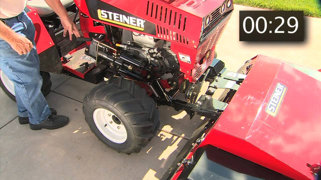 Steiner Quick Hitch System Youtube