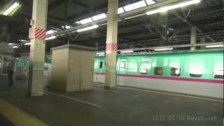 【車窓】 東北新幹線 はやぶさ9号 5倍速車窓 【東京~新青森】