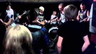 The Antiseptics - Living on the Breadline Live Priory Studios