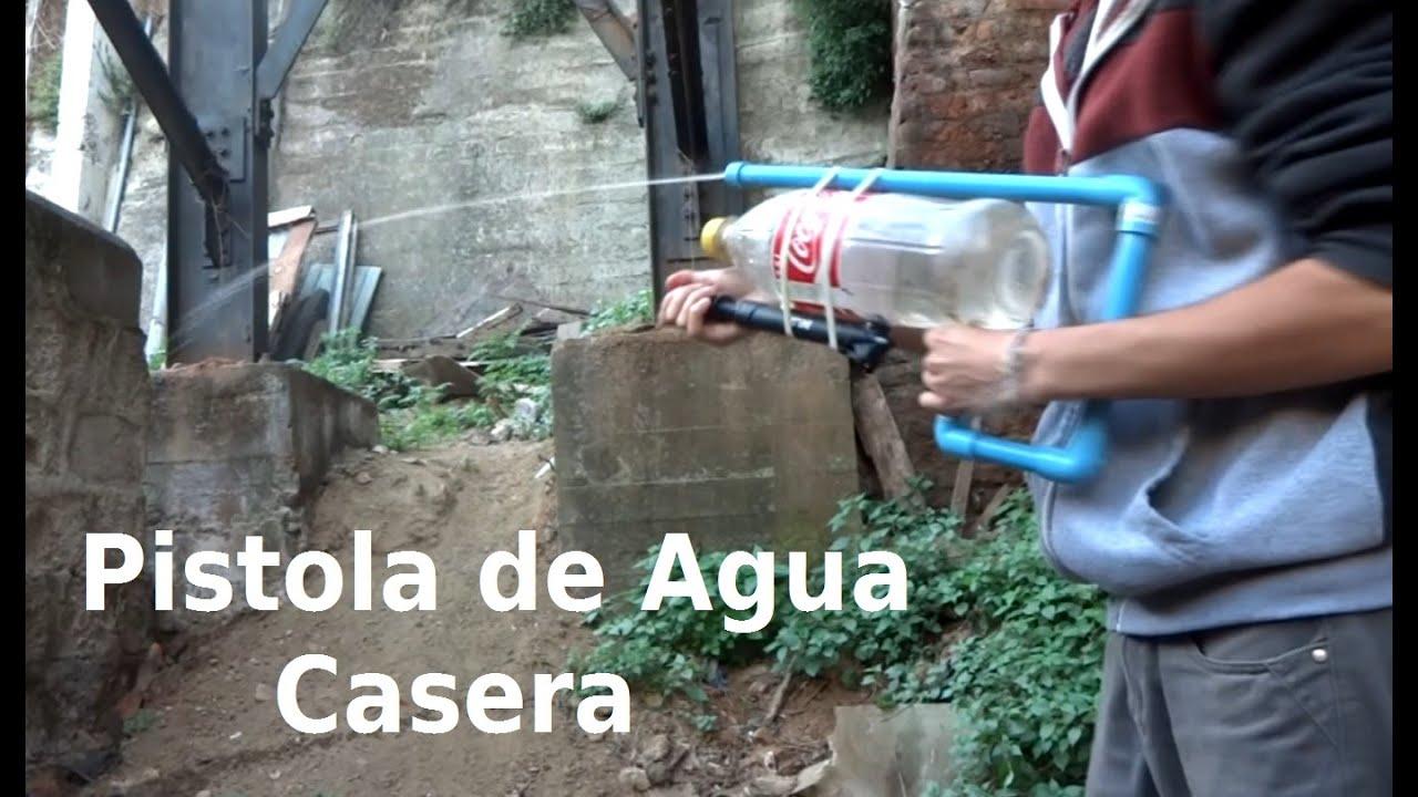 Como hacer una pistola de agua casera bunker maker youtube for Como construir una pileta de agua