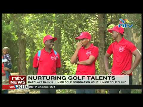 Barclays Bank and Junior Golf foundation hold Junior Golf Clinic