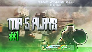 FaZe Replays | Top 5 Plays Episode #1!
