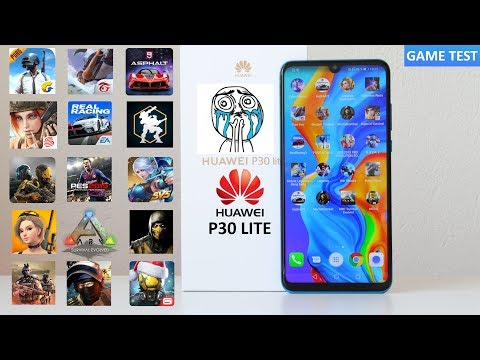 Game Test | HUAWEI P30 Lite | In 18 Games Android PUBG - ARK - FreeFire - Asphalt 9 🔥