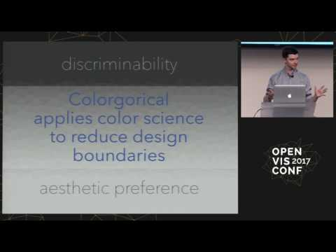 Empowering effective visualization color design - Connor Gramazio