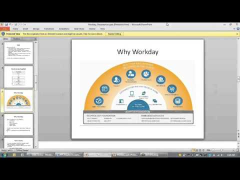Workday HR Demo
