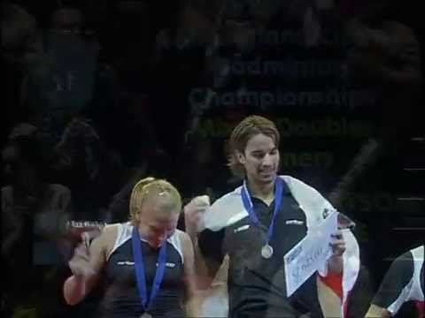 2005 YONEX All England Badminton Championships Mixed Doubles Final - Nathan Robertson & Gail Emms