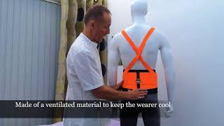 The Bad Back Companies review of the Hi Vis Workwear support belt.