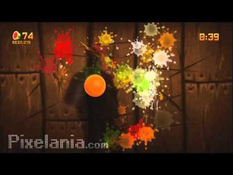 Video Reseña - Fruit Ninja Kinect