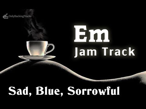 Sad Chords Chillout Backing Track in E Minor
