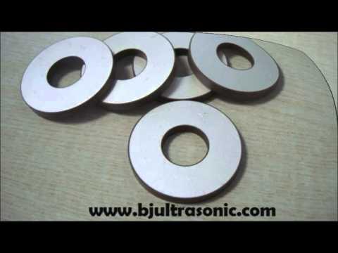 Piezoelectric Ceramic Ring 25*10*4