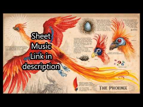 Fawkes the Phoenix Harry Potter Clarinet Solo (Sheet Music)