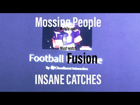 SHIFT LOCK IS GOATED! Football Fusion #1