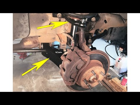 Upper & lower control arm replace on 2000 Ford Explorer