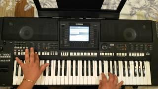 عزف اغنيه غيرك ما بختار - حسين الديك - YAMAHA PSR-A2000 By Bashar Faraj