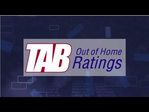 An Introduction to TAB Out of Home Ratings