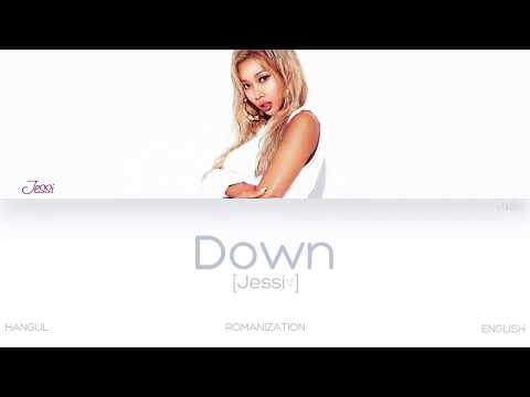 [HAN|ROM|ENG] Jessi (제시) – Down (Color Coded Lyrics)