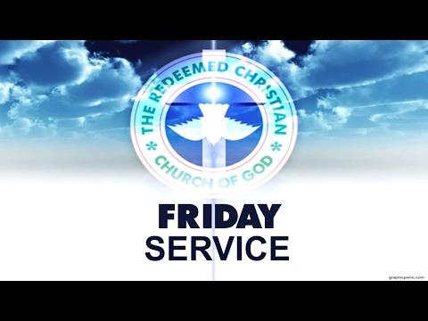 RCCG GAP Dubai FRIDAY SERVICE