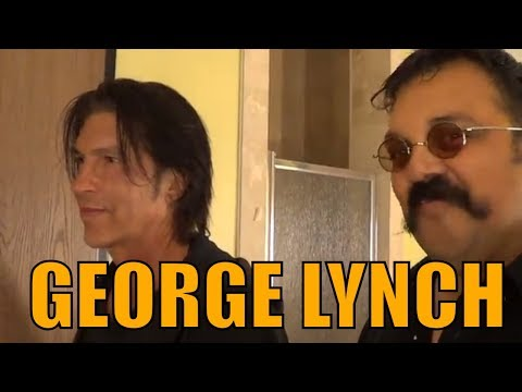 "Lynch Mob George Lynch Backstage Jamming ""Mr. Pumpkin"" Skull and Bones Guitar, Ramona, CA 02-15-14"