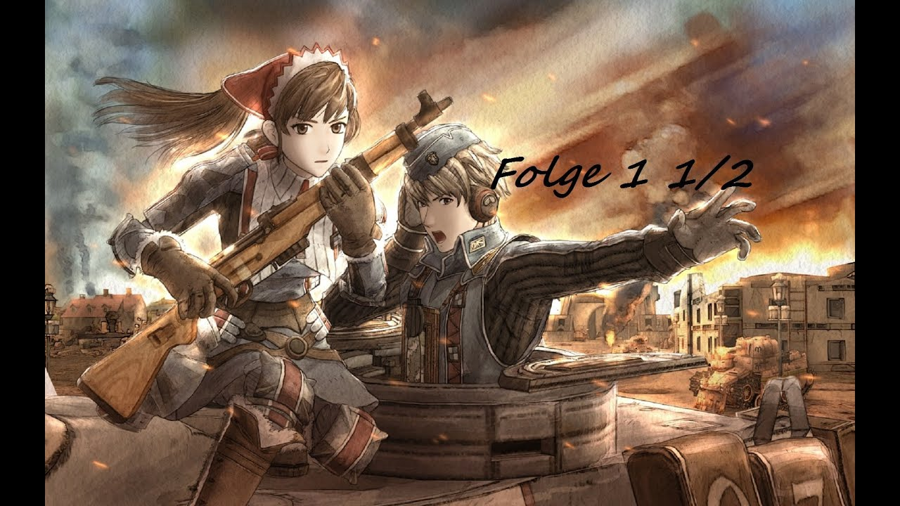 Girl With Guns Hd Wallpapers Senjou No Valkyria Chronicles Folge 1 1 2 Ger Sub Youtube
