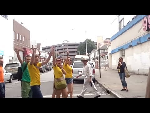 How Colombians in NYC Celebrate World Cup Win over Greece