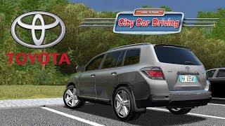 City Car Driving 1.5.5 - Toyota Highladner 3.5 V6 4WD II | + Download [ LINK ] | 1080p & G27