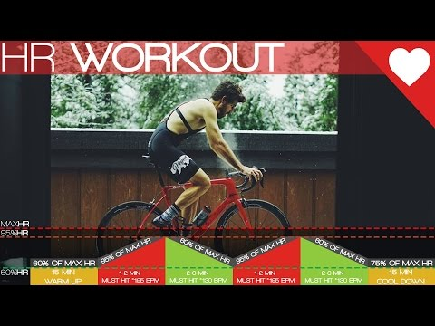 (HIIT) Heart Rate Only Cycling Workout Cycling Tips